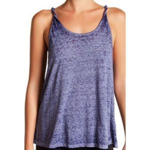 Threads 4 Thought tank top navy Audley sleeveless